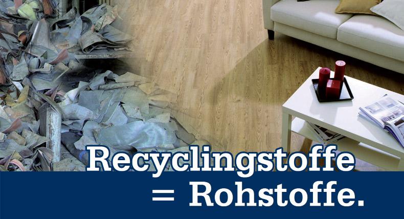 Recyclingstoffe = Rohstoffe